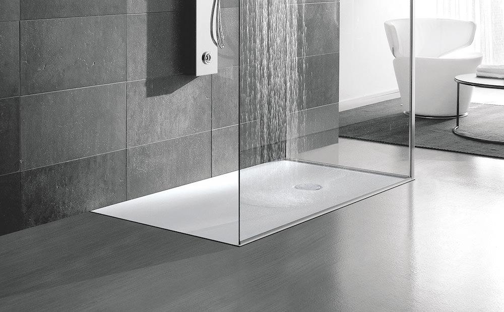 Vasca Da Bagno Filo Pavimento : Doccia di ultima generazione piatto ultra flat o a filo pavimento